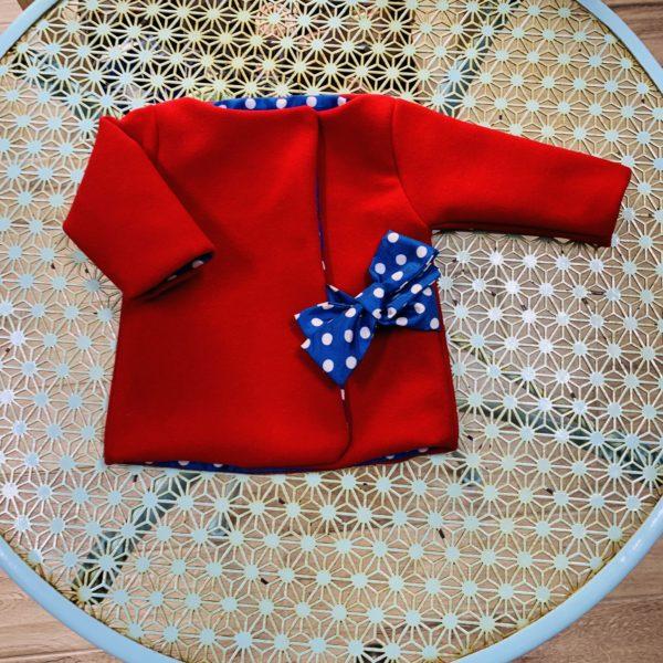 Cappottino rosso taglia 3 mesi - GraceTheGrace 9c7dfcccd856